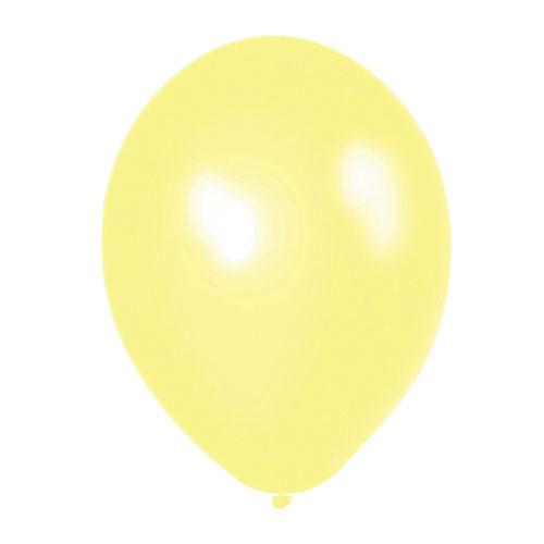 Globo Amarillo Pastel Perlado