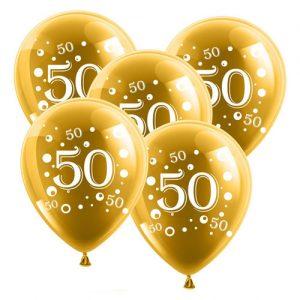 Globos Aniversario 50 años