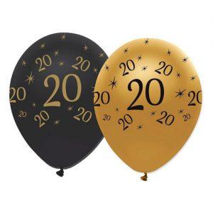 Globos Aniversario 20 Años