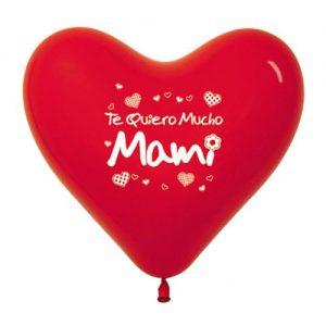 Globos Corazon Día de la Madre