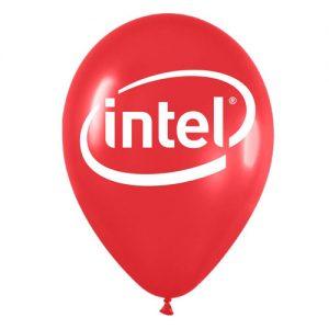 Globos Corporativos Intel