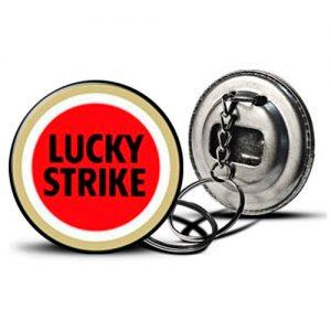 Llavero Destapador Lucky Strike