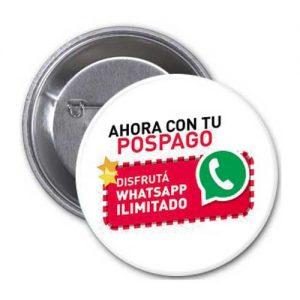 Pin Publicitario Telefonía Promocional