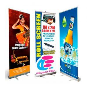 Impresión de Banner con Roll Screen