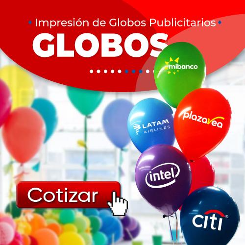 Impresion de Globos Publicitarios en Lima